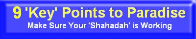 9 Points of Shahadah