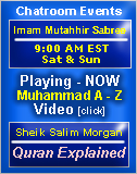 Join us for events in chatislam.com SAT 8:30AM and SUN 12PM